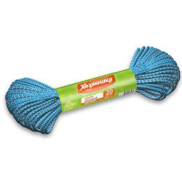 Хозяюшка Мила шнур бельевой цветной диаметр -3 мм, длина - 20 м