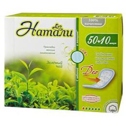 """Натали прокладки женские """"Део софт. Зеленый чай"""" гигиенические ежедневные целлюлозные"""