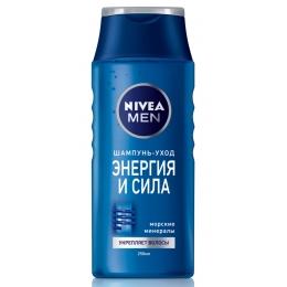 Nivea шампунь для нормальных волос мужской, 250 мл