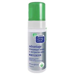 """Clean&Clear очищающая пенка """"Advantage. С экстрактом алоэ"""" быстрый эффект гель-аппликатор быстрого действия"""