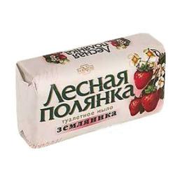 """Лесная Полянка мыло туалетное """"Земляника"""""""