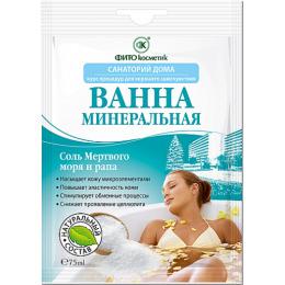 """Фитокосметик ванна """"Санаторий дома. Минеральная"""""""