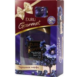"""Duru гель душ """"Gourmet. Черничное парфе"""" 250 мл + шапочка для душа"""