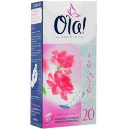 """Ola прокладки ежедневные """"Daily Deo. Бархатная роза"""""""
