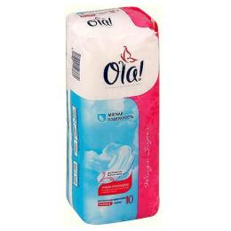 """Ola прокладки """"Wings Super. Мягкая поверхность"""" классические толстые"""
