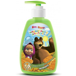 """Маша и медведь жидкое мыло для рук питательное """"Печенька"""""""
