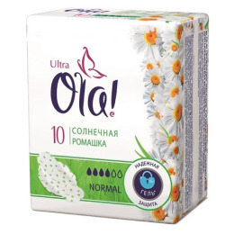 "Ola прокладки ""Ultra Normal. Солнечная ромашка"""