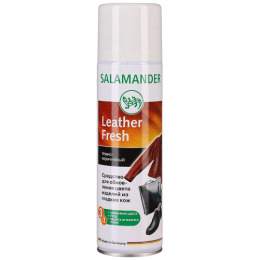 "Salamander аэрозоль краска ""Leather Fresh"" для гладкой кожи темно-коричневый"