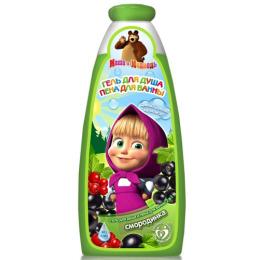"""Маша и медведь гель для душа и пена для ванн """"2в1 Смородинка"""""""