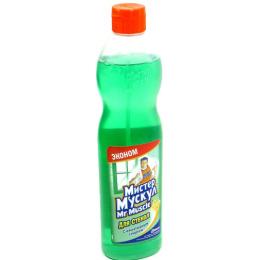 Мистер Мускул моющее средство для стекол с нашатырным спиртом