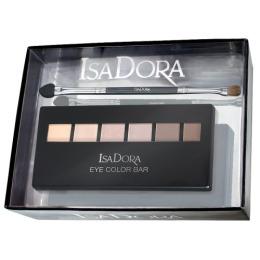 "IsaDora набор тени для век ""Eye Color Bar"" тон 60 и аппликатор для теней ""Eye Shadow Sponge"""
