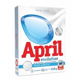 """April стиральный порошок """"white & bright"""" автомат"""
