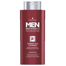 """Men Deep Effect 3 шампунь для волос """"Активатор роста с аргинином"""" мужской, 250 мл"""