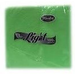 """Plushe салфетки """"Light"""" салатовые, сплошное тиснение 1 слой"""