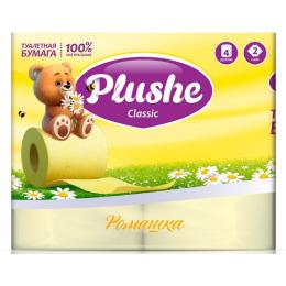 """Plushe туалетная бумага """"Classic. Ромашка"""" 2 слоя"""