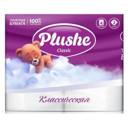 """Plushe туалетная бумага """"Classic"""" 2 слоя"""