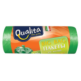 """Qualita пакеты """"BIG BAG"""" для мусора 120 л"""
