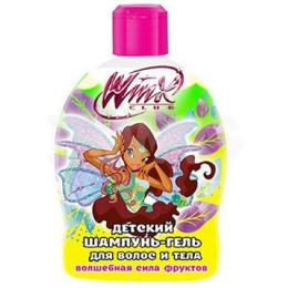 """Winx шампунь-гель """"Волшебная сила фруктов"""" для волос и тела"""
