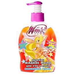 """Winx жидкое мыло """"Волшебные грёзы""""  для рук и лица"""