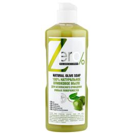 """Zero мыло для очищения """"Оливковое"""" для любых поверхностей, 500 мл"""