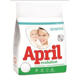 """April стиральный порошок """"sensitive"""" автомат"""