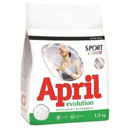 """April стиральный порошок """"sport & color"""" автомат"""