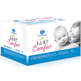 """Русалочка пеленки """"Baby Line. Comfort"""" универсальные 60 х 60 см"""
