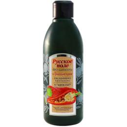 """Русское поле био-шампунь """"Красный Перец. С экстрактом красного жгучего перца"""" для укрепления и роста волос"""