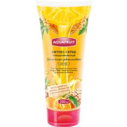 """Aquafruit скраб-фитнес для тела """"Тропическое удовольствие"""" антицеллюлитный"""