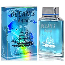 """Позитив Парфюм туалетная вода """"Ocean's. Aqua"""" мужская"""