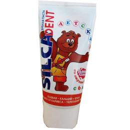 """Silca зубная паста """"Dent. Детская со вкусом Жвачки"""" гелевая"""