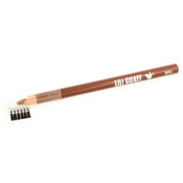 Lili Guaff карандаш с кисточкой для бровей короткий