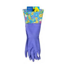 Русалочка перчатки универсальные с удлиненной манжетой средние М