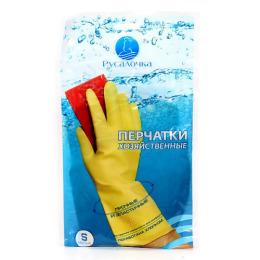 Русалочка перчатки хозяйственные малые размер S