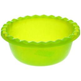 "Пластик центр миска ""Фазенда. Зеленая"" прозрачная"