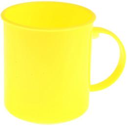 """Пластик центр кружка """"Счастье. Лимон"""""""