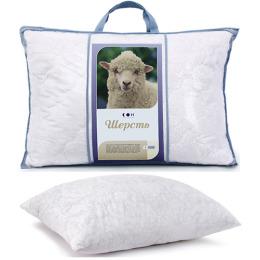 """Мягкий сон подушка """"Силиконизированное волокно"""" 50 х 50 см полиэстер в пакете"""