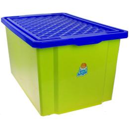 """Пластик центр детский ящик для хранения игрушек """"Little Angel. Фисташковый"""" малый лего"""