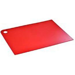 """Plast Team доска разделочная """"Grosten. Красный"""" прямоугольная 345 x 245 x 2мм"""