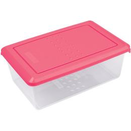 """Plast Team емкость для хранения продуктов """"Pattern. Коралловый"""" прямоугольная"""