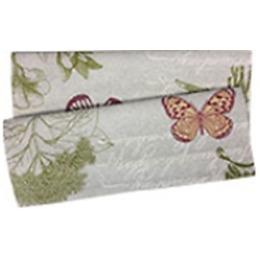 """Bonita полотенце """"Бабочки"""" из рогожки 35 х 61 см"""
