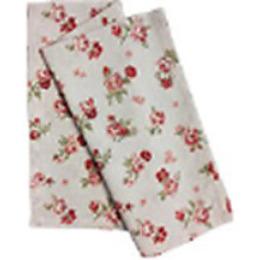 """Bonita полотенце """"Розы"""" из рогожки 35 х 61 см"""