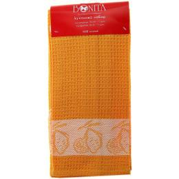 "Bonita набор  ""Лимон желтый"" полотенце 70 х 45 см + салфетка 35 х 35 см, жаккард"