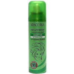 """Красотка лак для укладки волос """"Энергия и Объем"""" с растительными протеинами сильная фиксация"""