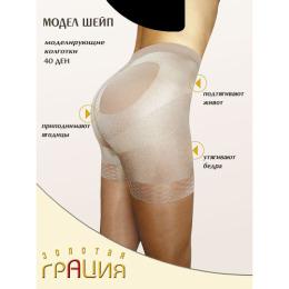 """Грация колготки женские """"Модель шейп 40"""" черный"""