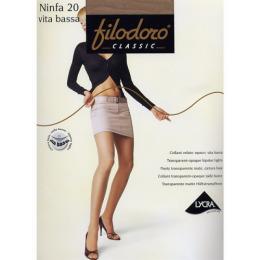 """Filodoro колготки """"Ninfa 20 Vita Bassa"""" Cappuccio"""