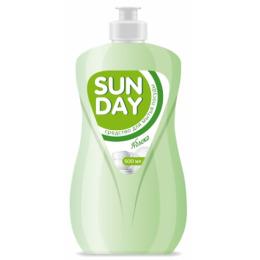 """Sunday средство """"Яблоко"""" для мытья посуды"""