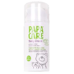 """Papa Care крем """"Родниковая вода Альп и экстракт альпийской розы"""" для нежной кожи"""