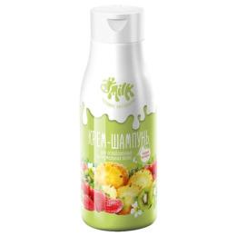 """Milk крем-шампунь """"Бодрящий мультифрукт"""" для ослабленных и нормальных волос"""