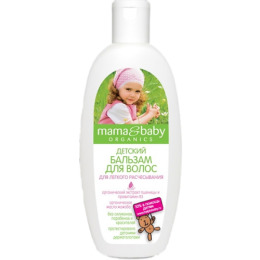 """Mama&baby бальзам """"Детский. Для легкого расчесывания""""для волос"""